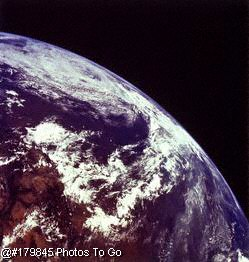 View of Earth from Apollo 11